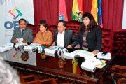 Presentación De La Papeleta De Sufragio Para El Referendo Autonómico De Carta Orgánica Del Municipio De Palos Blancos