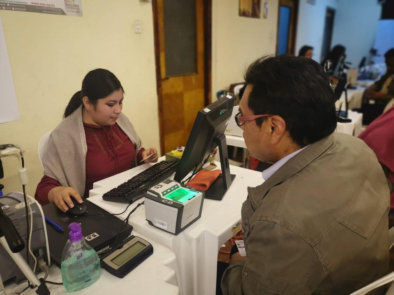 La Paz registró 172.759 ciudadanas/os en el empadronamiento masivo rumbo a las Elecciones Generales 2019
