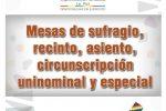 MESAS DE SUFRAGIO HABILITADAS PARA LAS ELECCIONES GENERALES 2019
