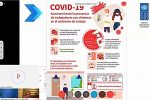 Prevención del Covid-19, capacitación en el TED La Paz y el SERECÍ La Paz