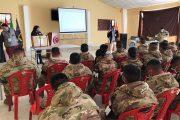 """Fuerzas Armadas se capacitan en """"Cadena de custodia"""" para garantizar la transparencia en las próximas subnacionales"""